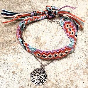 Summer boho anklet bracelet set